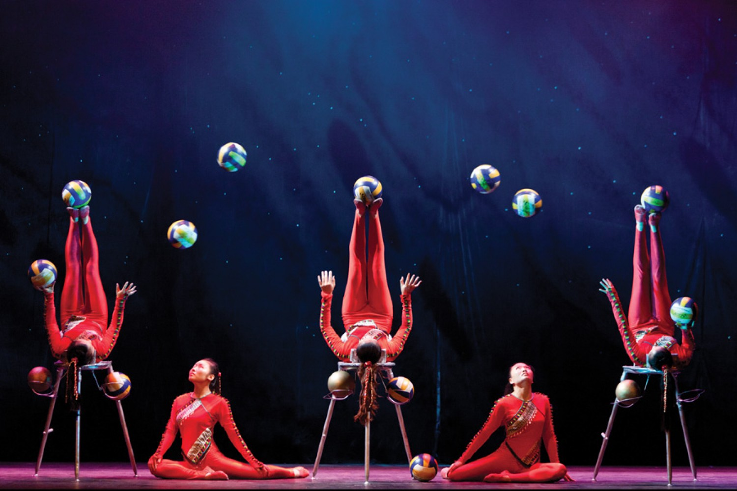 Golden dragon acrobats show length x nebule with steroids