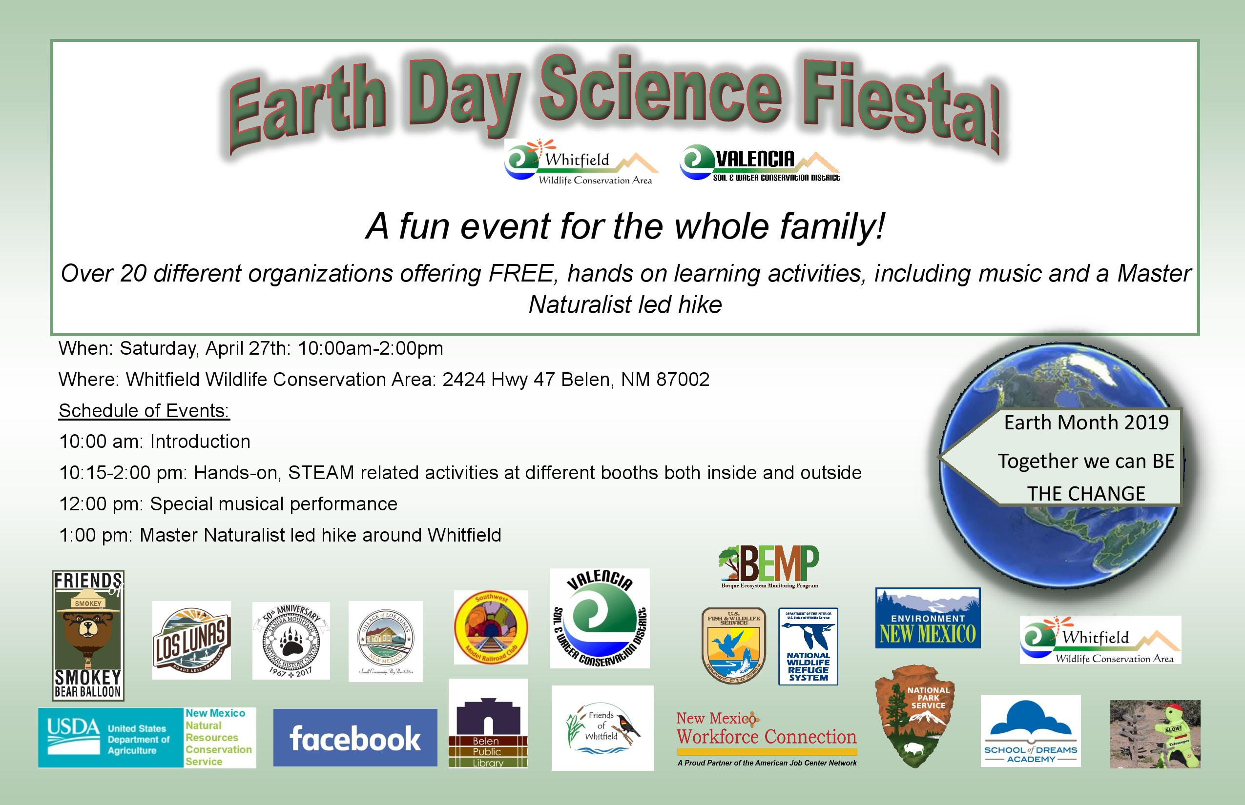 Earth Day Science Fiesta @ Whitfield Wildlife Conservation Area | Belen | New Mexico | United States